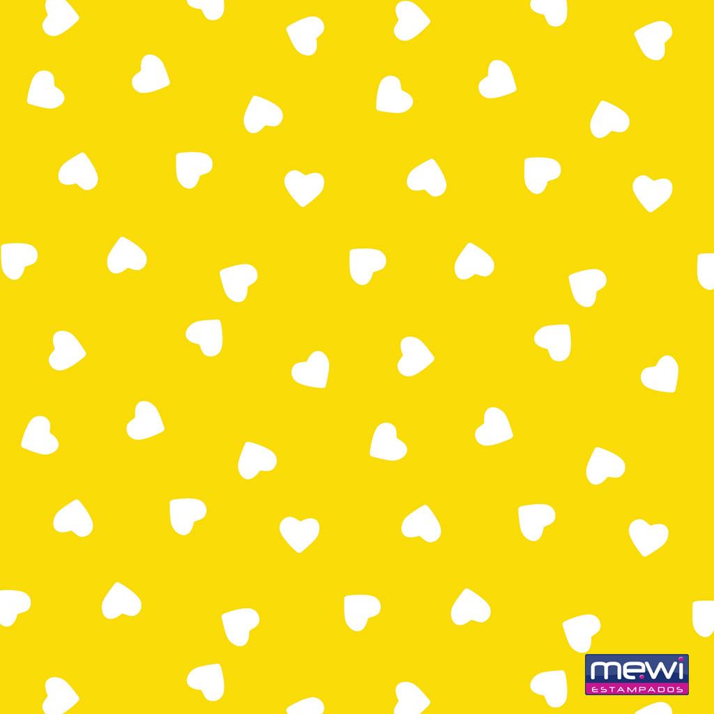 1115 – Coração Branco_Amarelo