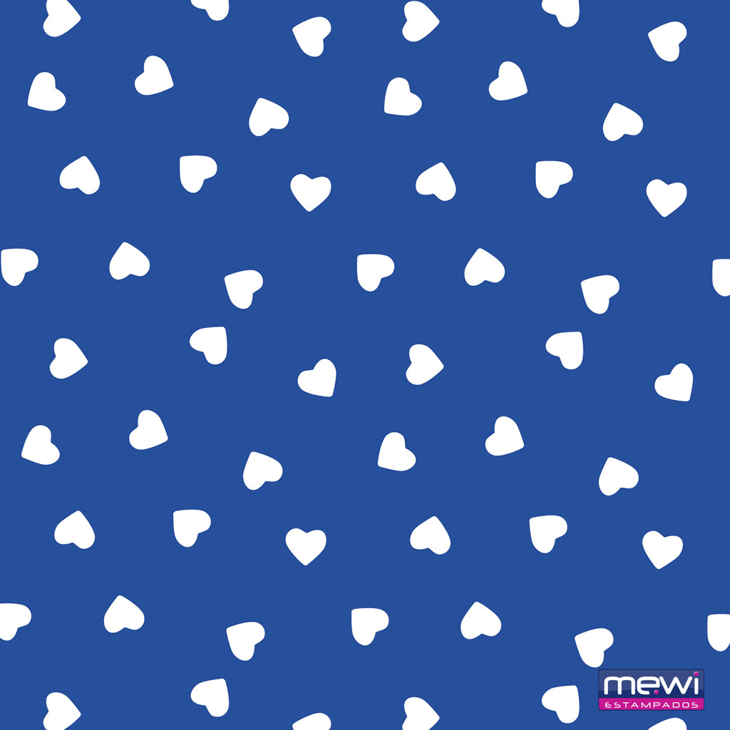 1115 – Coração Branco_Azul Royal