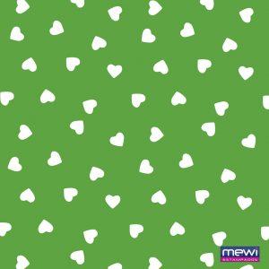 1115 - Coração Branco_Verde