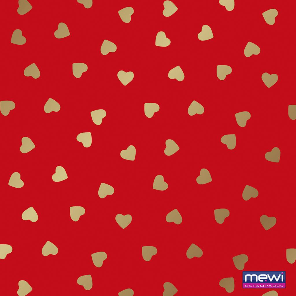 1115 – Coração Dourado_Vermelho