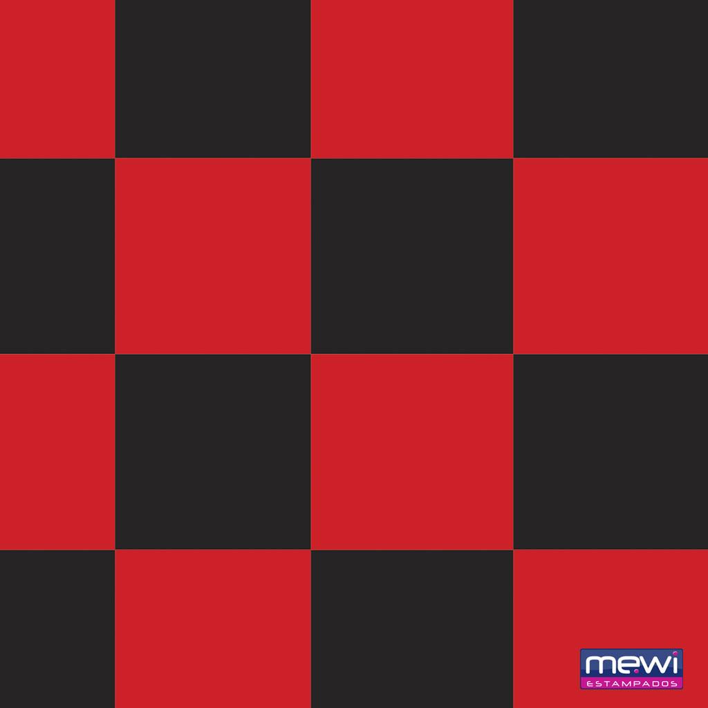 2062 – Quadriculado Preto_Vermelho