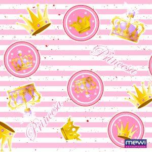 7023 - princesa coroa - rosa