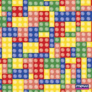 6054 - LEGO_com pinos Branco