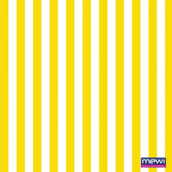 Estampa Listras Amarelas e Brancas