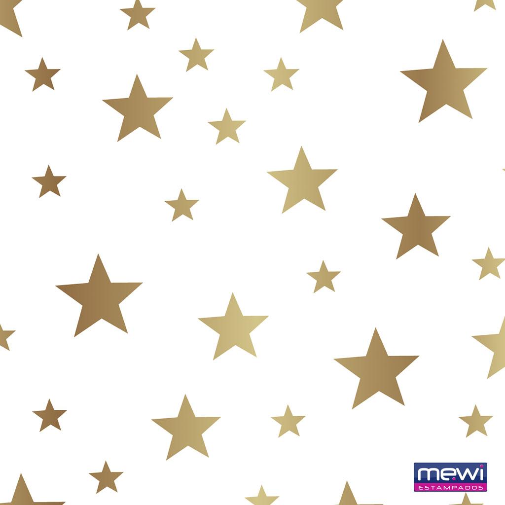 1120 – Estrela – Dourado_Branco