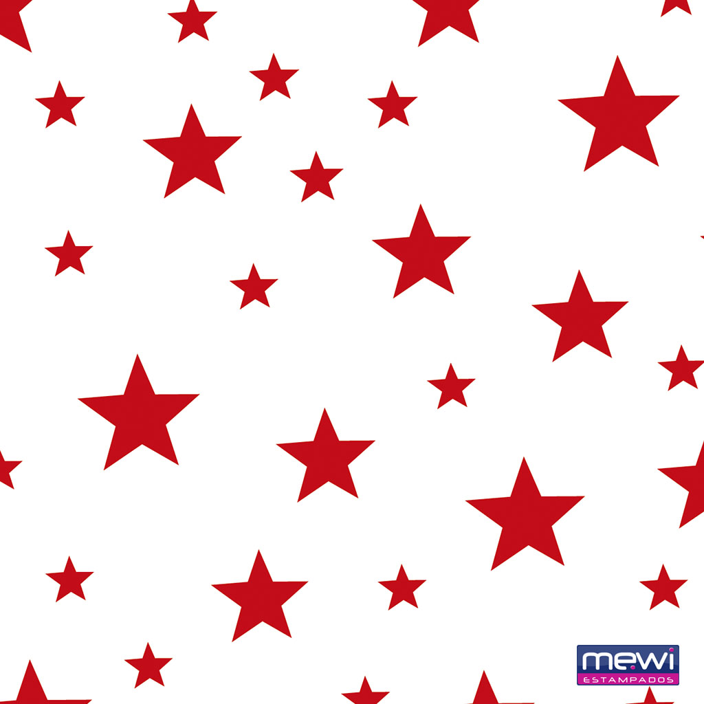 1120 – Estrela – Vermelho_Branco