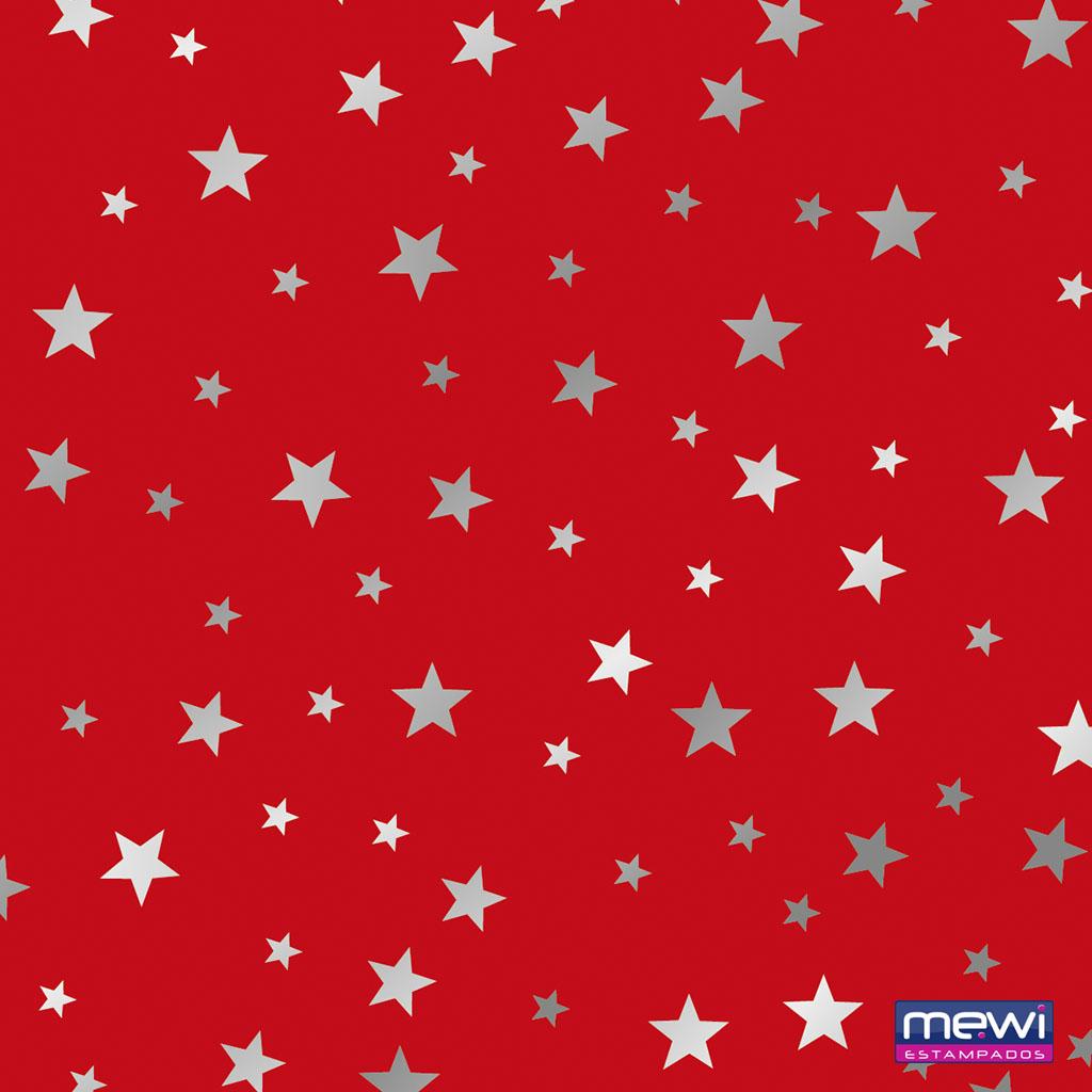 1187 – Estrela – Prata-Vermelho