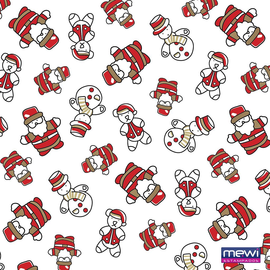 3805- Boneco de Neve-Papai Noel