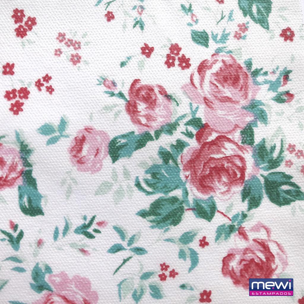 6027 – Floral rosa