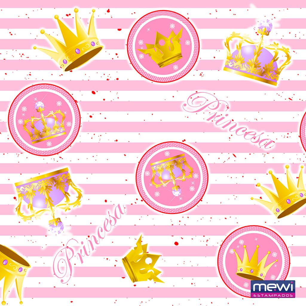 7023 – princesa coroa – rosa