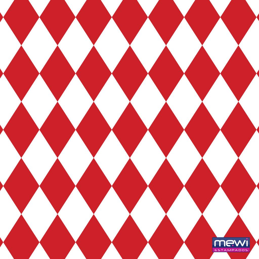 1121- Geométrico_Vermelho_Branco